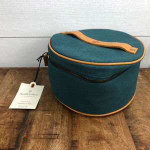 Hearth & Hand Round Cosmetic bag New with tag